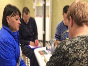 Тренинги и лекции в реабилитационном центре