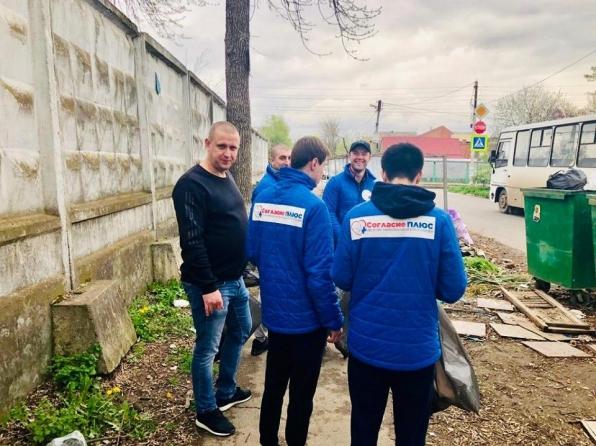 Субботник в Пашковском 13.04.2019